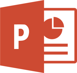 The powerpoint logotype